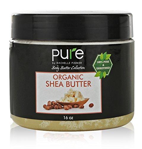 - Premium Raw Organic Shea Butter 100% Pure 1 Pound Shea Body Butter for Skin Care, Dry Skin Moisturizer! Organic Shea Butter 16 oz (Shea Butter)