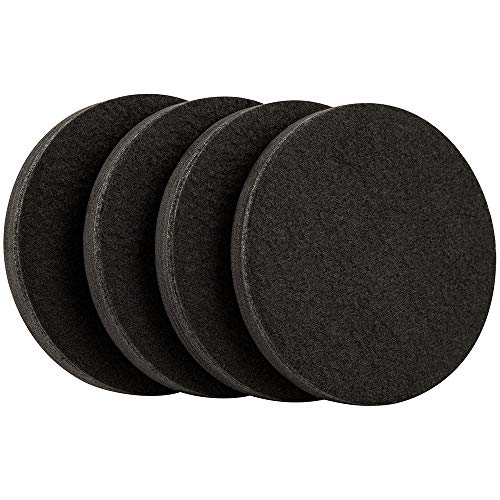 Furniture Any - SuperSliders 4763595N Reusable Furniture Sliders for Hardwood Floors Quickly and Easily Move Any Item, 4 Pack, Black