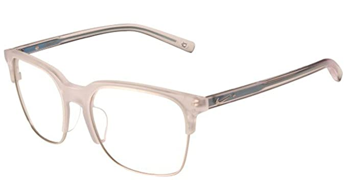 792b93abde5 Eyeglasses NIKE 38 KD 970 MATTE CRYSTAL CLEAR SILVER at Amazon Men s ...