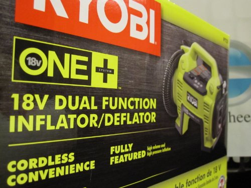 Ryobi P731 One+ 18v Dual Function Power Inflator/Deflator...