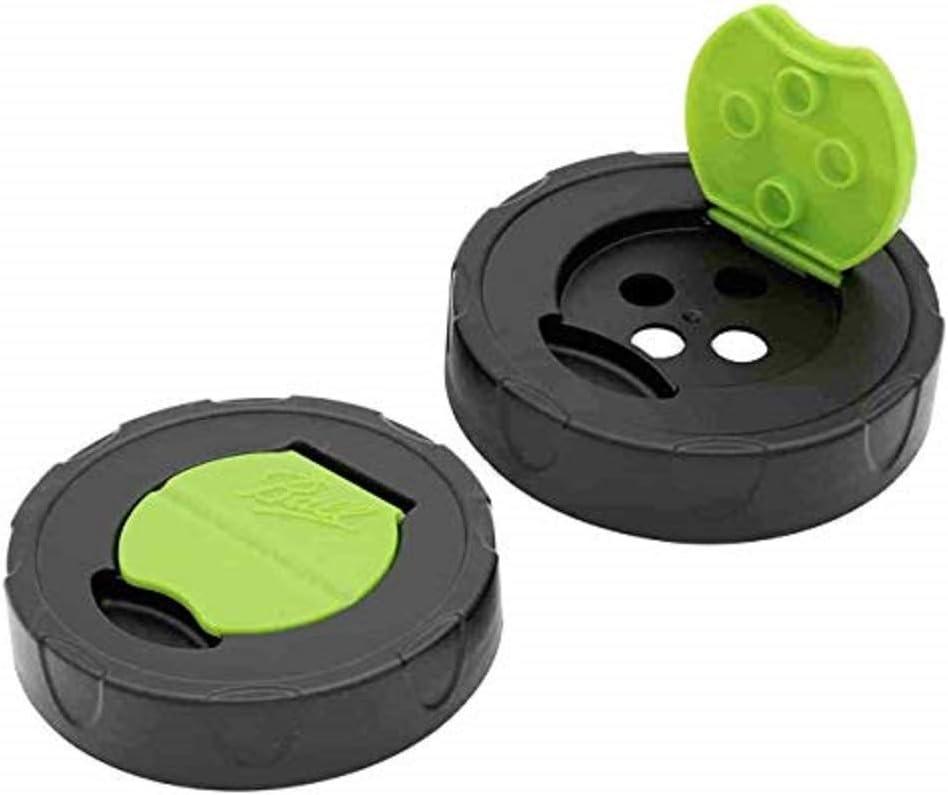 Ball Herb Shaker Plastic Lids 2 Per Package 2 Pack