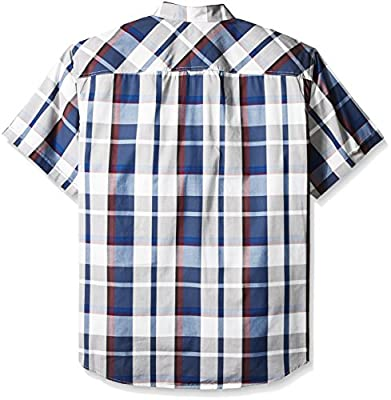 Sean John Men's Big and Tall Short Sleeve Epaulette Shirt