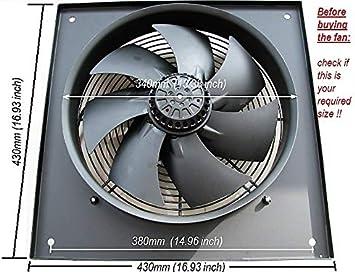 Extractor comercial industrial Ventilador Extractor Ventilador 300 ...