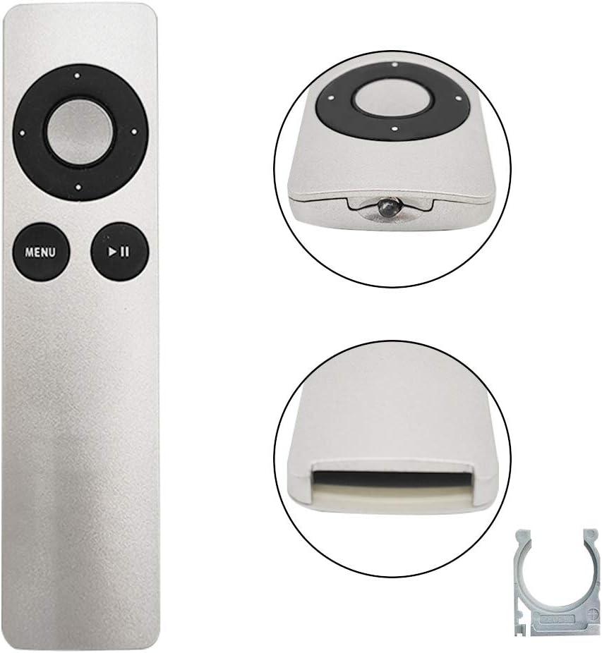 Replacement Remote Control for APL TV MC377LL/A 1 2 3 TV2 TV3 A1156 A1427 A1469 A1378 A1294 M iMac MacBook iPod iPhone - Apple TV MC377LL/A Remote Control