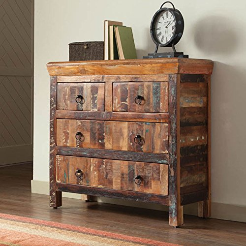 Coaster Drawer Accent Cabinet Reclaimed