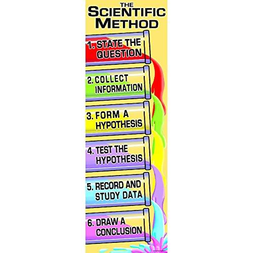 (McDonald Publishing MC-V1619 Scientific Method Colossal Concept Poster, 18.2