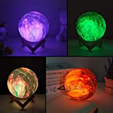 BRIGHTWORLD Moon Lamp Kids Night Light Galaxy Lamp