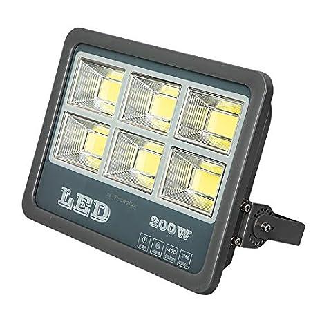 200W Floodlight Led Foco Proyector Led para Exterior Iluminación ...