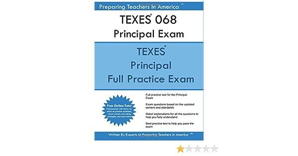 texes 068 principal exam: texes 068 exam stdy guide: preparing ...