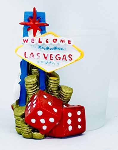 Fabulous Las Vegas Nevada Souvenir 2 Ounce Shot Glass
