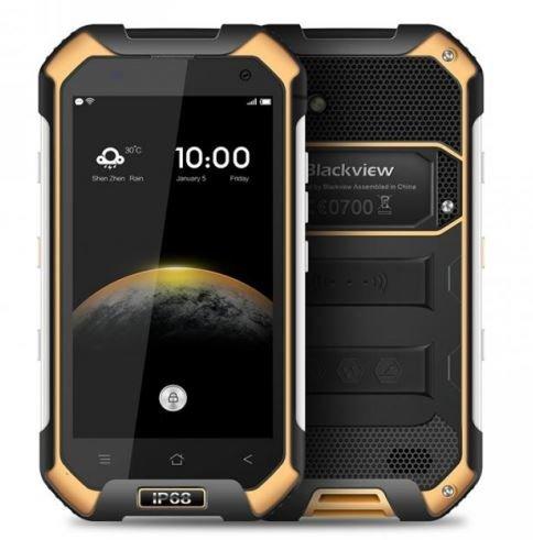 Blackview BV6000 - IP68 Android 6.0 Wasserdichte Outdoor-Smartphone 3GB RAM + 32GB mit 2,0 GHz 4,7-Zoll-Gorilla-Glas 3 Gelb