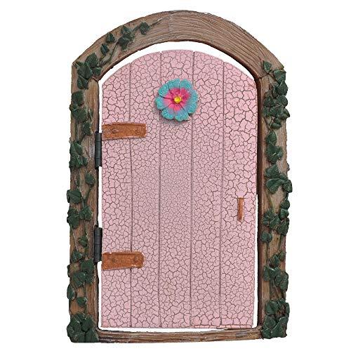 Ivy Fairy Door, Color Options for Miniature Garden, Fairy Garden, Pink
