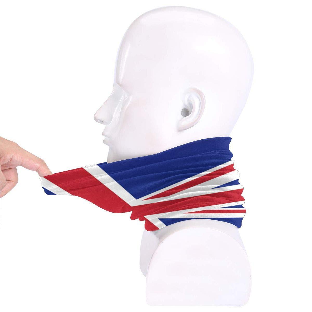 LDDDP British Flag Neck Warmer Anti-UV Neck Gaiter Windproof Fleece Neck Warmer Heavyweight Multifunctional Ski Mask Winter Outdoor Accessories