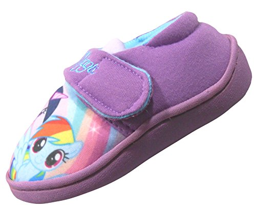 My Little Pony Rainbow Magic Girls Slippers UK 8/25 -