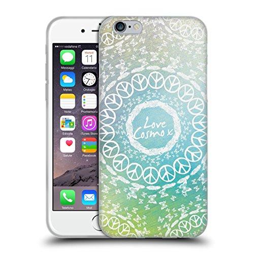 Official Cosmopolitan Mandala 2 Boho Soft Gel Case for Apple iPhone 6 / 6s