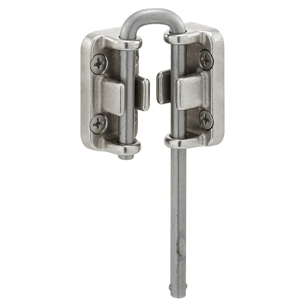 Defender Security S 4380 Sliding Door Loop Lock, 13/16 Inch, Stainless Steel Construction, Pack of 1