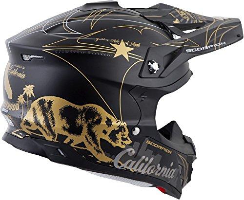 (ScorpionExo VX-35 Off-Road Helmet (Golden State, Large))