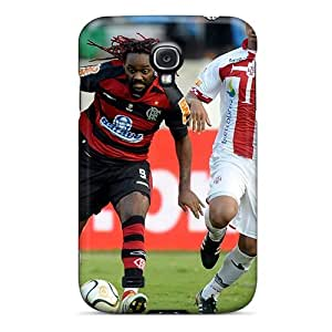LTVzInt4314gOhvI Snap On Case Cover Skin For Galaxy S4(the Best Player Of Shandong Luneng Vagner With Red Hair)