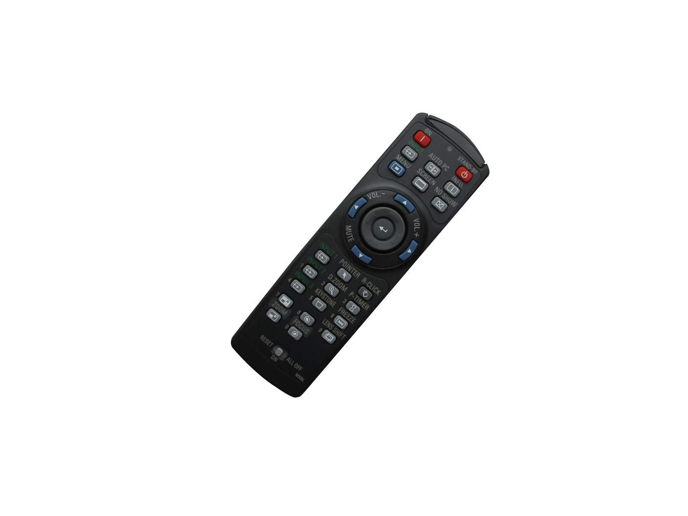 Hotsmtbang Replacement Remote Control for Christie Vivid LX380 LX450 LX300 LX505 XGA Conference Room 3LCD Projector by Hotsmtbang