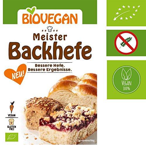 Levadura orgánica extra fuerte Levadura Master Yeast 7g Biovegan | Nueva fórmula libre de