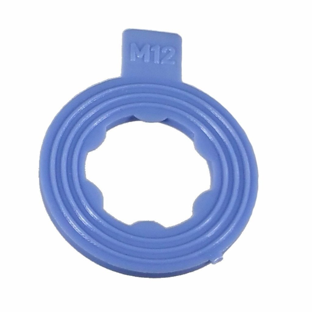 Buy Auto Supply # BAS03550 (50 Count) M12 Nylon Ribbed Oil Drain Plug Gasket Aftermarket Replacement for 097-116 (I.D 13mm/O.D 21.8mm)