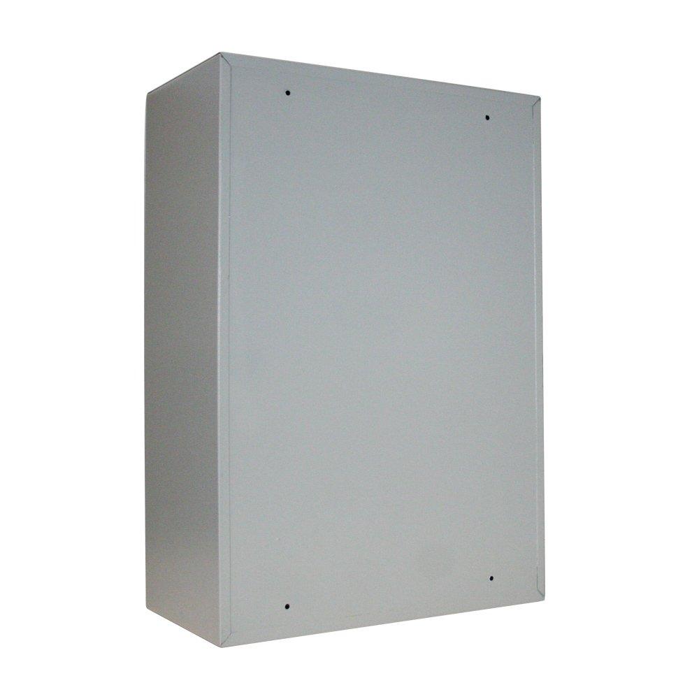 lichtgrau 300 Haken 14,5 kg 55,0 x 38,0 x 20,5 cm HMF 135300-07 Schl/üsselschrank Schl/üsselkasten
