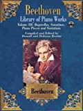 Library of Piano Works, Vol 3: Bagatelles, Sonatinas, Piano Pieces, & Variations, Book & CD (Belwin Edition: Beethoven Library of Piano Works)