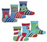 TICK TOCK Baby Boys 6 Pack Multibuy Cotton Rich Socks