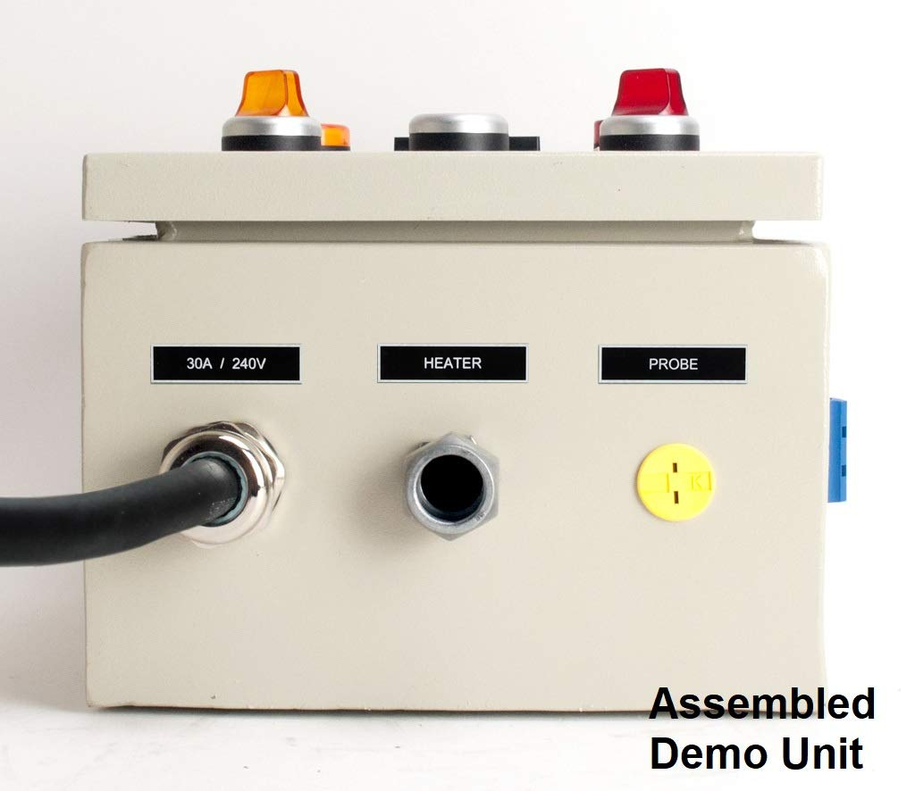 Powder Coating Oven Controller Kit 240v 30a 7200w Auber Pid Wiring Diagram Pco Industrial Scientific