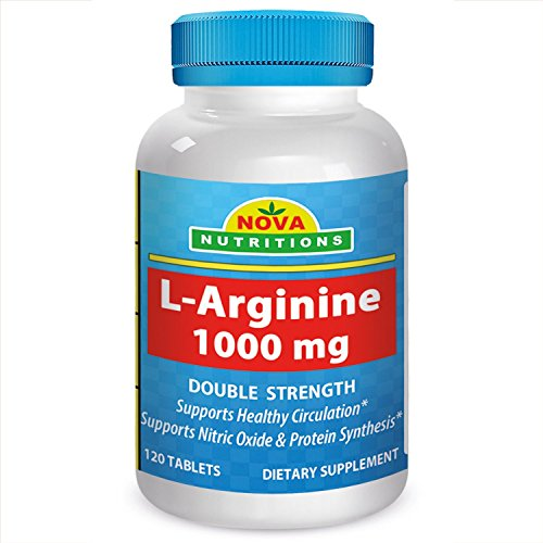 Nova Nutritions L Arginine 1000 Tablets product image