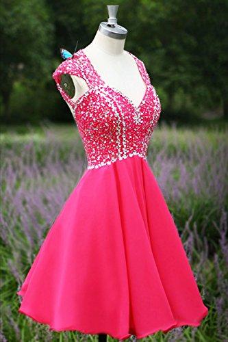 linea Donna maniche Bridal Mall Porpora ad Senza Vestito a qBEpvU