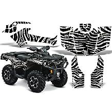 CreatorX Can-Am Outlander 800 1000 R Xt Graphics Kit Decals Stickers Zebra Camo White