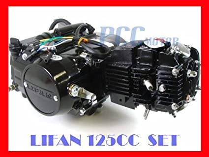 amazon com lifan 125cc motor dirt bike engine complete set 125m s Lifan 125Cc Wiring Harness image unavailable image not available for color lifan 125cc motor