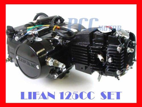 Lifan 125cc Motor Dirt Bike Engine Complete Set 125m-s