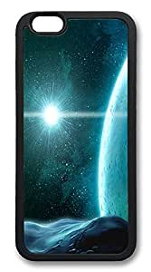 ICORER iPhone 6 Case Space Light Awesome TPU Case Cover for Apple iPhone 6 Black