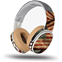 Skin for Skullcandy Crusher Wireless Headphones - Vintage American| MightySkins Protective, Durable, and Unique Vinyl Decal wrap cover | Easy To Apply, Remove, and Change Styles | Made in the USA