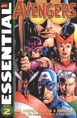 Essential Avengers Vol Marvel Essentials product image