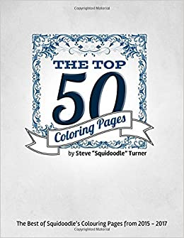 Amazon Com The Top 50 Coloring Pages An Adult Colouring Book
