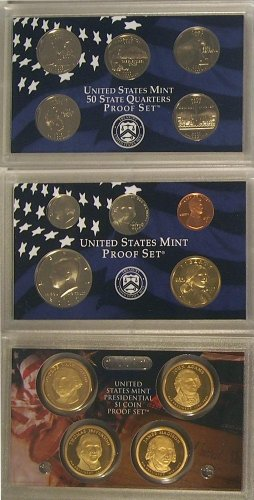 (2007 S Proof Set in Original US Government Packaging)