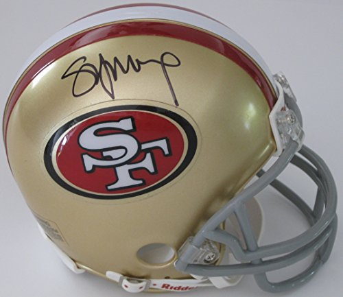 (Steve Young, San Francisco 49ers, Signed, Autographed, Mini Football Helmet, a COA with the Proof Photo of Steve Signing Will Be Included)