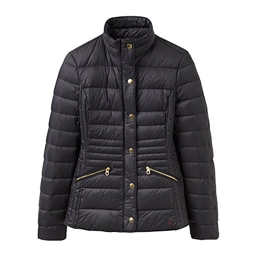 Joules Padded Womens Jacket Moritz Padded Ladies Down Lightweight Black tZtFr7x