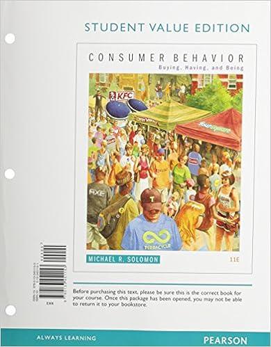 Amazon consumer behavior buying having and being student amazon consumer behavior buying having and being student value edition 11th edition 9780133451153 michael r solomon books fandeluxe Image collections