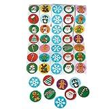 Arts & Crafts : Holiday Roll Sticker Assortment (500 Stickers)