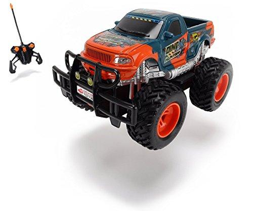 Dickie Toys 201119077 - RC Dino Hunter, funkferngesteuerter Monstertruck inklusive Batterien, 19 cm