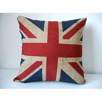 Amazoncom Decorbox Decorative 18 x 18 Inch Linen Cloth Pillow