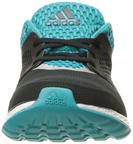 Adidas Performance Womens Energy Bounce 2.0 Scarpa Da Corsa Nero / Argento / Verde Shock