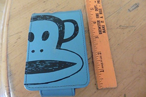 Vintage Paul Frank Monkey 1st generation ipod case Retro blue 2004