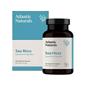 Organic Sea Moss Capsules | Vegan 1000mg