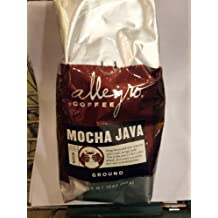 Allegro Coffee - Mocha Java, Ground Coffee, 12 oz, (Pack of 3)