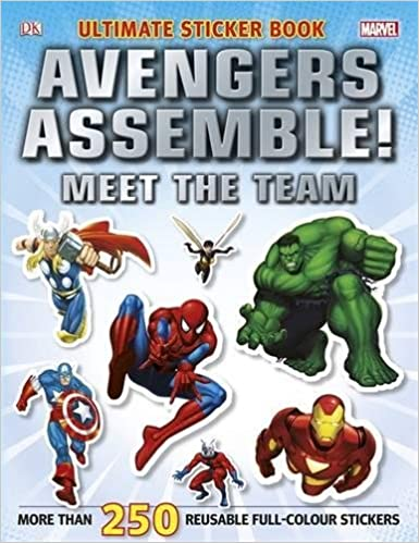 Marvel Avengers Asemble Ultimate Sticker Collection by DK